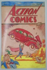 Superman-Action-Comics-1-recreation-The-Art-Collector-039-s-Edition
