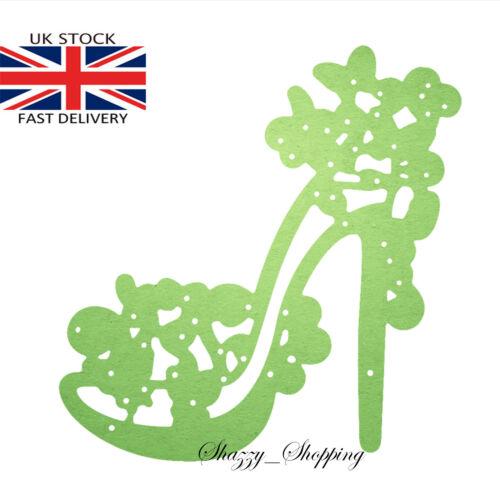 Pretty High Heel Shoe metal cutting die cutter UK seller Fast Posting