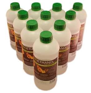 Bio ethanol Fuel Golden Fire Premium Grade Quality, Clean Burn Biofuel Biofire