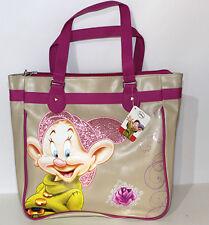 Borsa Shopper Cucciolo beige fuxia grande Disney ragazza