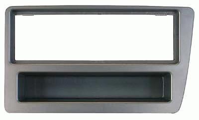 Mascherina 1 DIN per Honda Civic 03-06 colore grigio metallizzato