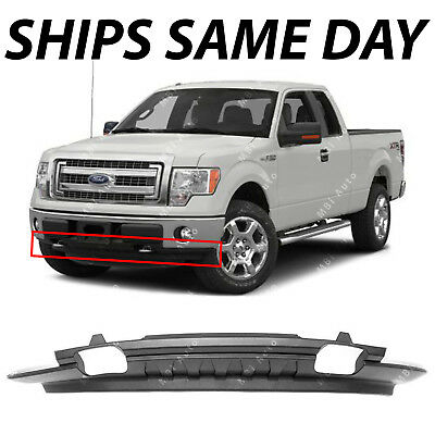 New Textured Front Lower Bumper Valance For 2009 2014 Ford F150 W Out Sport Pkg Ebay