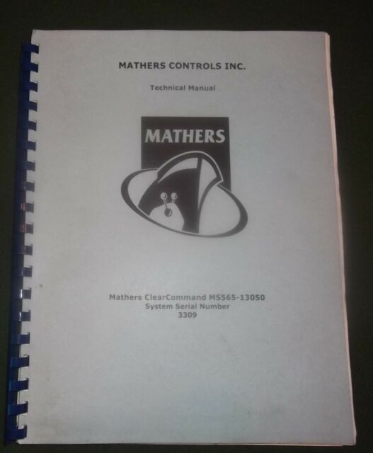 Mathers Clear Command Ms565