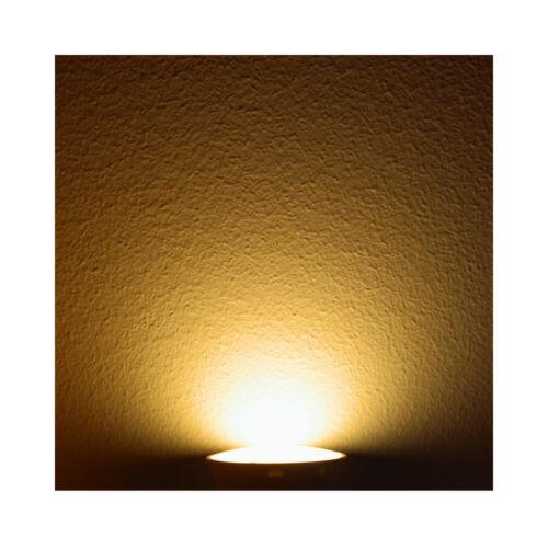 MAX-LED GU10 LED Spotlight Bulb SMD 1.5W Warm Cold White Low Power 15W