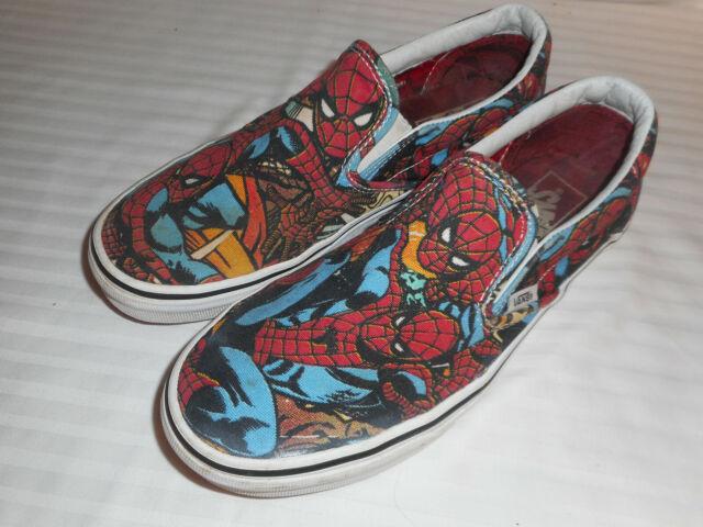 Vans X Marvel SPIDERMAN Slip-On Shoes