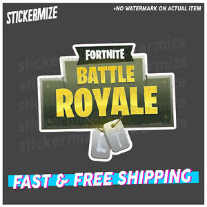 FORTNITE BATTLE ROYALE Sticker Decal Victory Xbox Ps4 PC