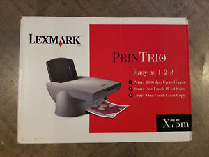 Lexmark x75 all in one driver download.