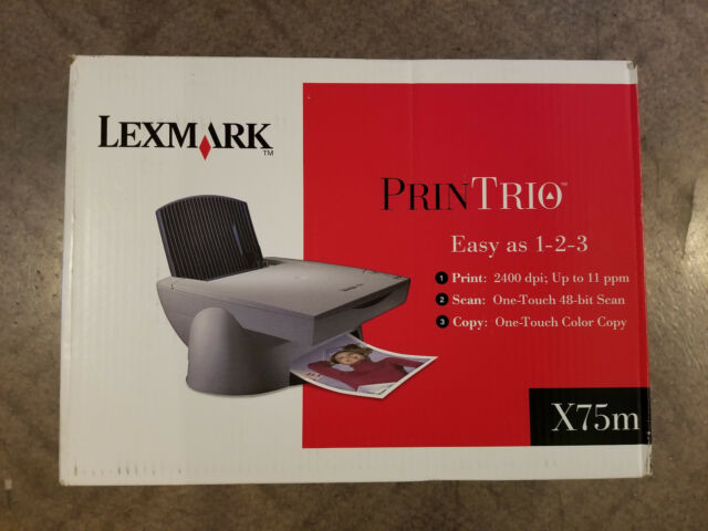 LEXMARK X75 PRINTRIO PRINTER WINDOWS 8 X64 DRIVER