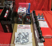 Chevy 283 Master Engine Kit Pistons+rings+torque Cam+springs 1964 65 66 67
