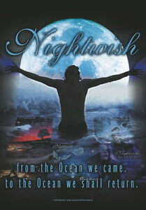 """BANDTILENIGHTWISH FLAGGE / FAHNE """"FROM THE OCEAN WE CAME"""""""