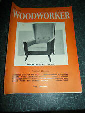 WOODWORKER May 1958 ~ Retro Vintage Illustrated Magazine + Advertising