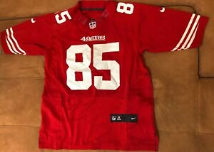 29485ae9835 Image is loading Authentic-Nike-NFL-Jersey-Vernon-Davis-San-Francisco-