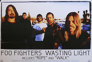 FOO FIGHTERS WASTING LIGHT POSTER B14