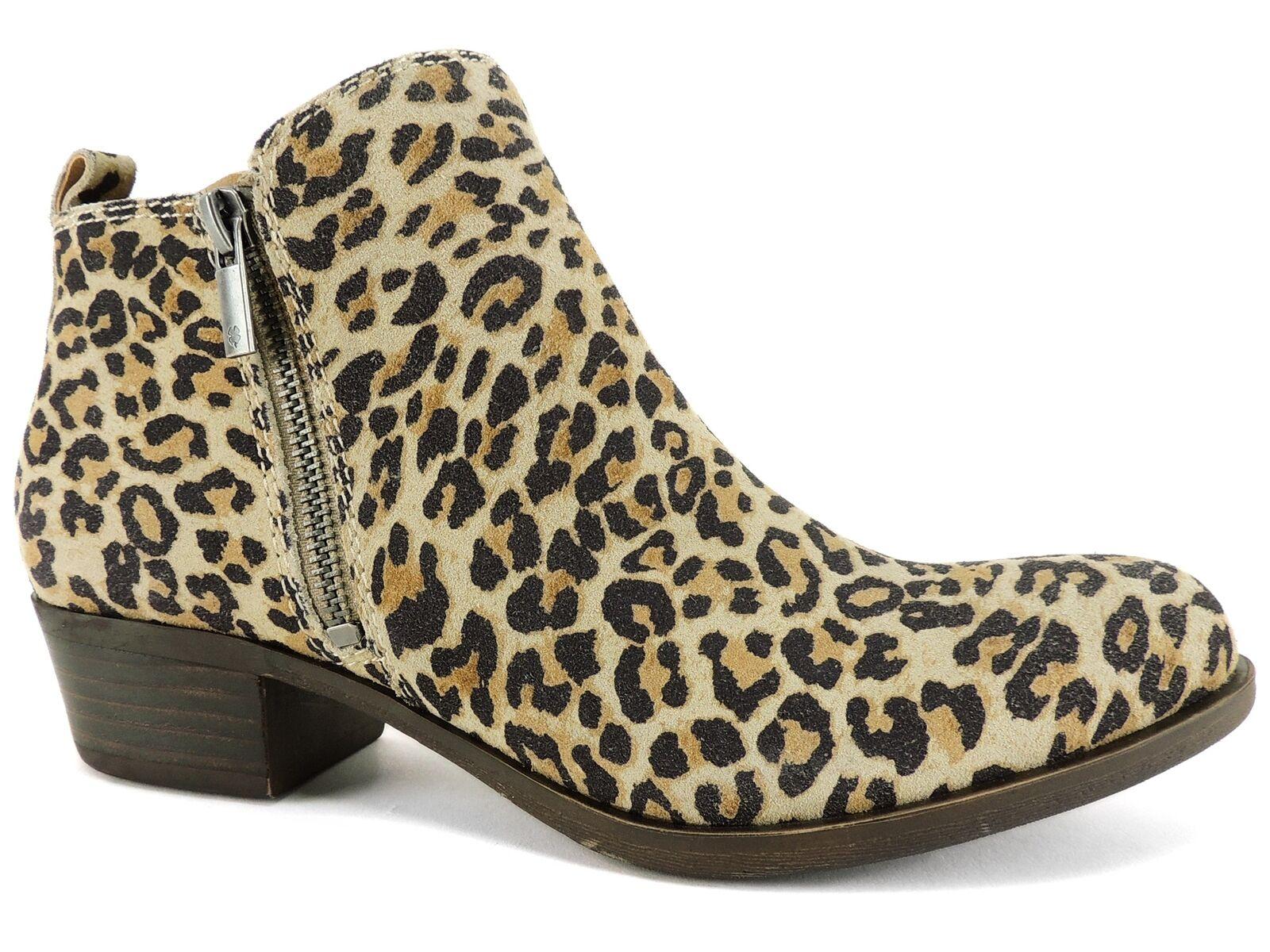 vendite dirette della fabbrica Lucky Brand Donna  Basel Basel Basel avvioies Natural Leopard Dimensione 6 M  consegna veloce e spedizione gratuita per tutti gli ordini