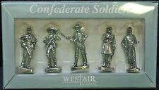 WESTAIR - CONFEDERATE SOLDIERS - 5 Civil War Soldiers - Nice Details NIB