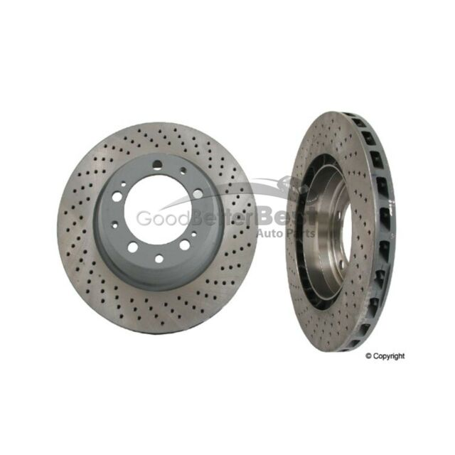 For Porsche 911 Rear Passenger Right Disc Brake Rotor Sebro 205824
