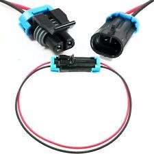 Assembled Delphi 2 Pin Metri Pack 150series 18ga Male Amp Female Redblack Pigtail