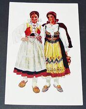 CPA 1950 VLADIMIR KIRIN COSTUME NATIONAL CROATE HRVATSKA DALMATIE ZLARIN OMISALJ