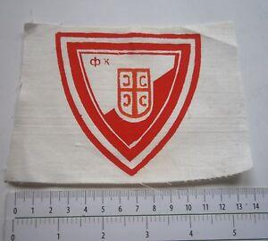 Details About Red Star Crvena Zvezda Or Vojvodina Fc Yugoslavia Serbia Football Patch Emblem