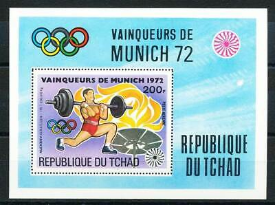 Briefmarken UnabhäNgig 609842 Tschad Block 55a** Olympiade