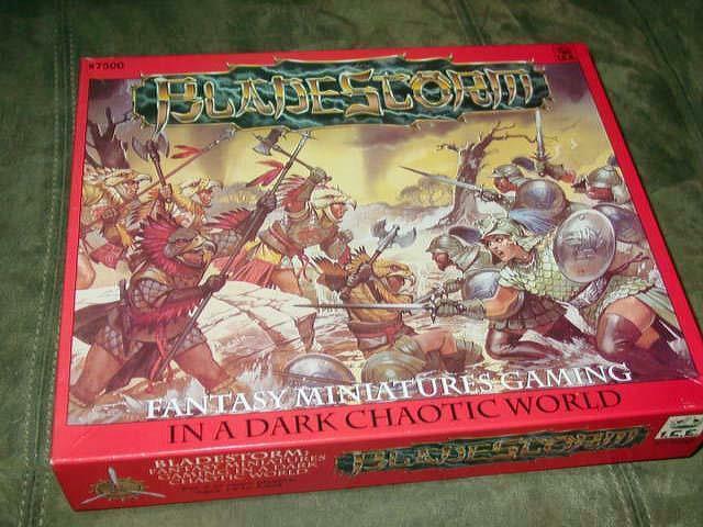 I.C.E. BLADESTORM -  fantasyc Minatures - In a Dark Chaotic World + Bestiary  omaggi allo stadio