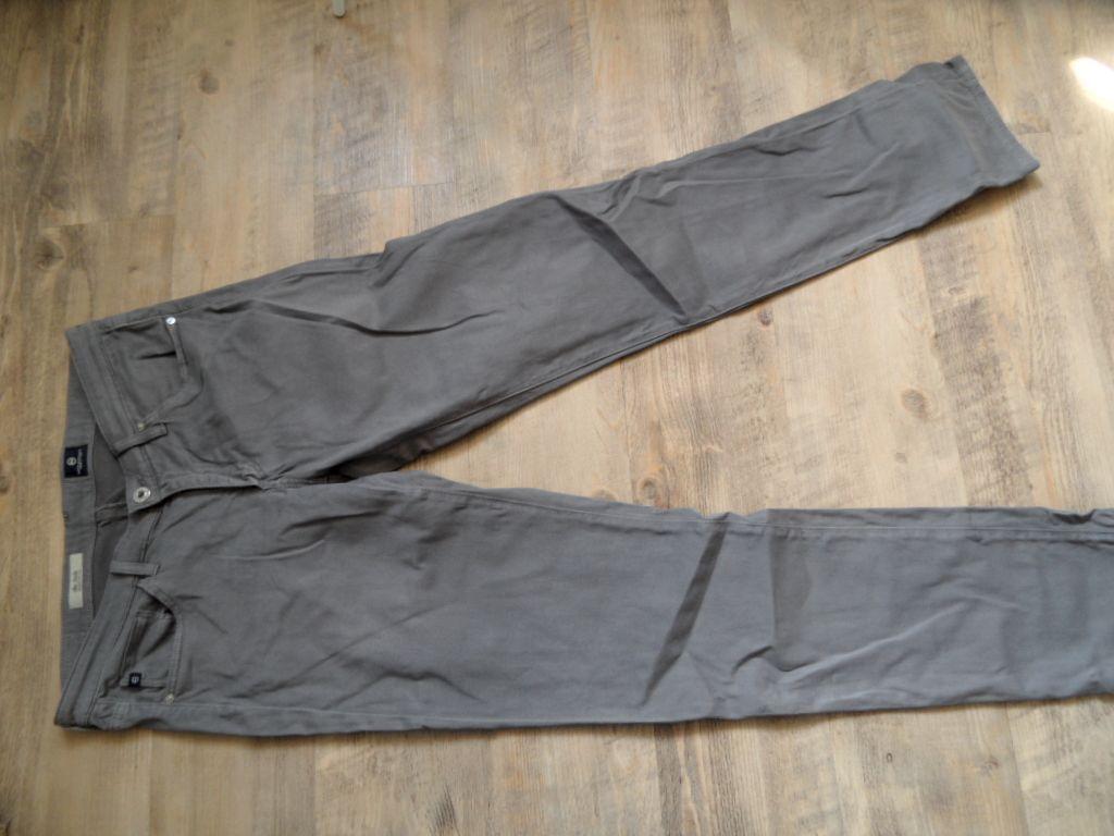 ADRIANA GoldSCHMIED tolle Jeans the Stilt cigarette leg grau Gr. 29 R NEUw BI817
