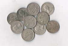 LOT OF 9 BRITISH WEDDING COINS Elizabeth II  UK -  PRICE REDUCED