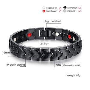 Magnetische-Energie-Armband-Germanium-Gesundheit-BioTitan-Heilende-Arthritis-Neu