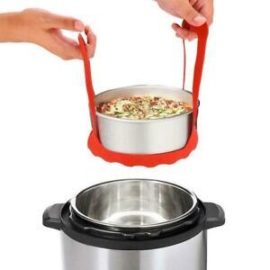 Pressure-Cooker-Sling-Steamer-Silicone-Bakeware-Lifter-Rack-AU-Cook-N9R7