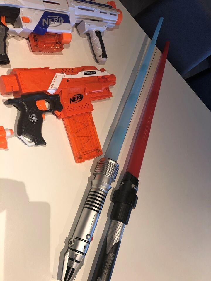 Blandet legetøj, Nerf guns, Nerf