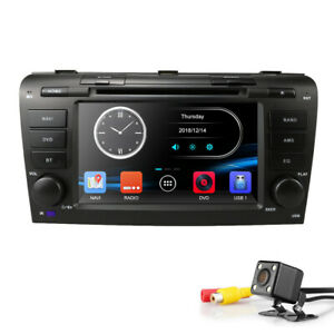Car-DVD-Player-Mazda-3-BK-Stereo-Head-Unit-Radio-USB-CD-Double-DIN-Fascia-Kit-TU