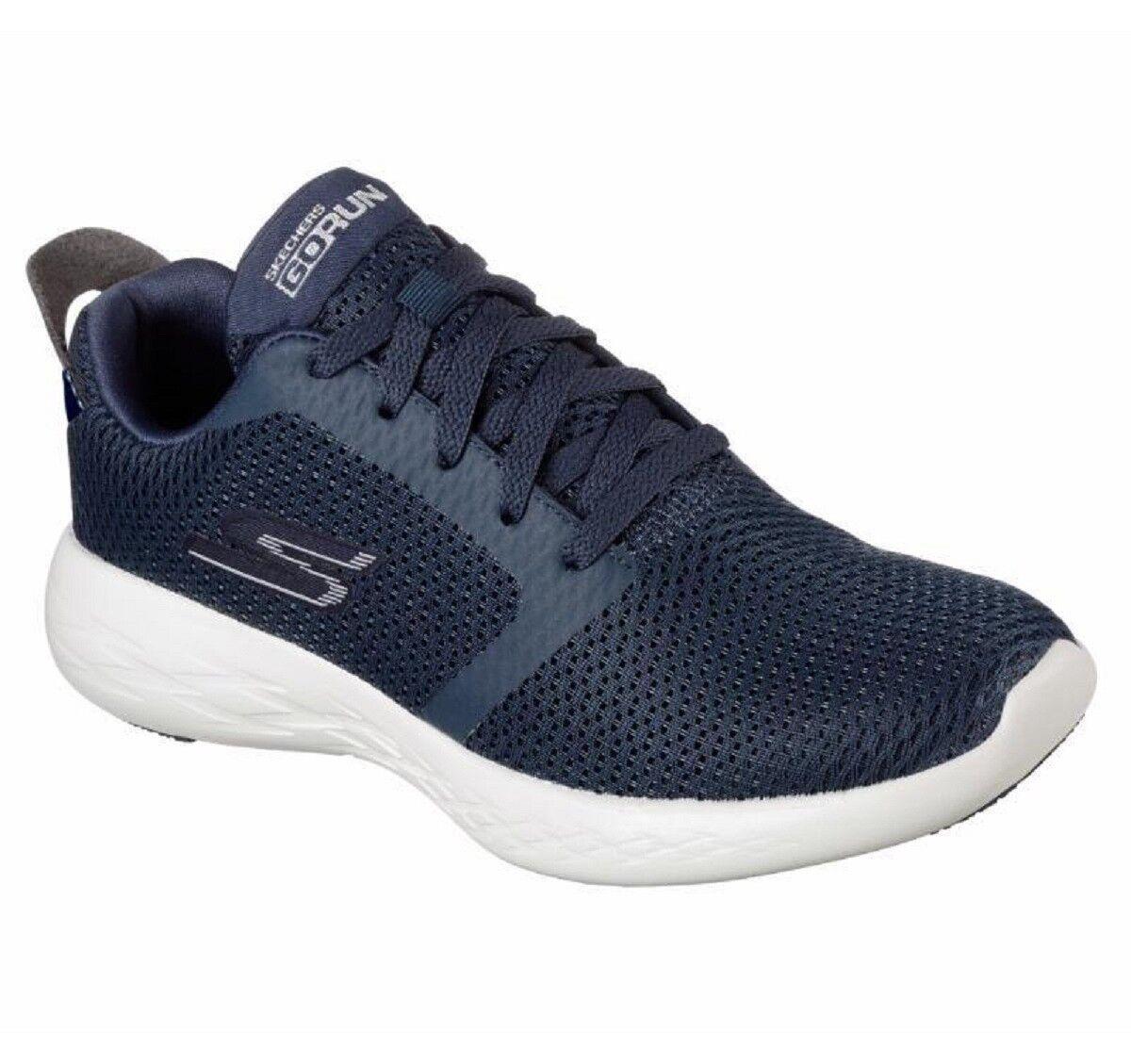 SKECHERS GO RUN 600 REFINE - Navy - casual Sneakers Woman - Scarpe casual - donna - gym 654326