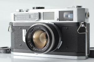 EXC-5-Canon-Modell-7-Entfernungsmesser-mit-50mm-f1-8-Leica-l39-LTM-aus-Japan