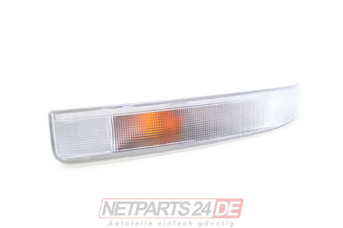 Neu Blinkleuchte Blinker Fahrtrichtungsanzeiger links Weiß Renault Master ab 98