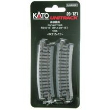 "Kato 20-121 315mm 15º Curve Track R315-15 N scale New Japan 12 3//8/"""