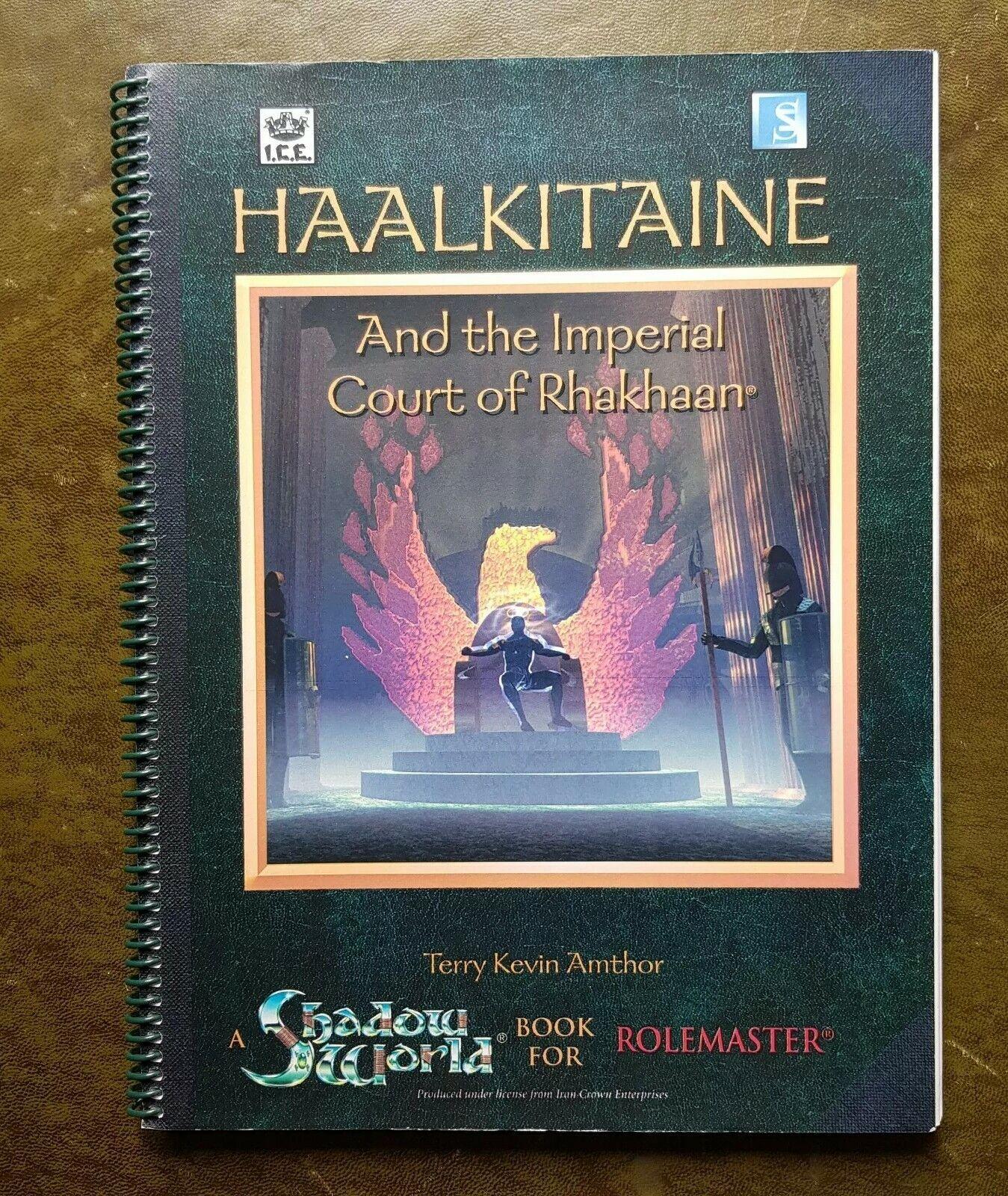 Haalkitaine y la Corte Imperial de rhakhaan-Shadow World-RPG de hielo hielo hielo  directo de fábrica