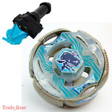 BB-82 T125RS GRAND Ketos BEYBLADE Masters Fusion Metal+GRIP+BLUE SPIN LAUNCHER