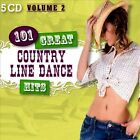 101 Great Country Line Dance Hits, Vol. 2 by The Country Dance Kings (CD, Mar-2012, 5 Discs, Smith & Co.)