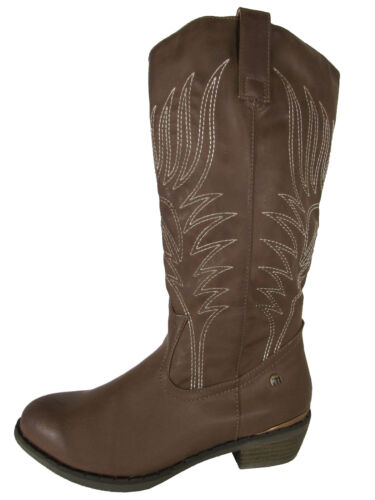 MTNG Mustang Womens 56143 Mid Calf Cowgirl Boots