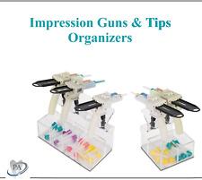 Dental Acryic Impression Gun Holder Amp Hp Mixing Tips Organizer Vps Gun Rack