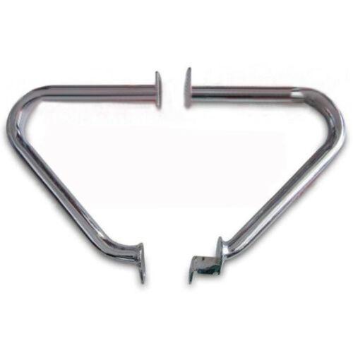 Pair Engine Crash Guard Protection Bar Fit Triumph Bonneville SE T100 02-15 SFW