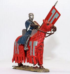 Del-PRADO-medievale-Guerrieri-WOLFRAM-VON-ESCHENBACH-GERMANY-1200-PIOMBO-DIE-CAST