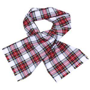 Crippa Divani E Poltrone.3747y Sciarpa Unisex Paio Crippa Scozzese Tartan Girl Boy Wool