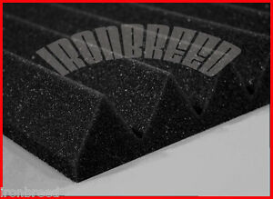 2-034-x12-034-x12-034-Acoustic-Wedge-Studio-Soundproofing-Foam-Wall-Tiles-Vocal-Booth-USA