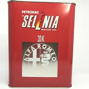 2-Liter-PETRONAS-SELENIA-20K-Alfa-Romeo-SAE-10W-40