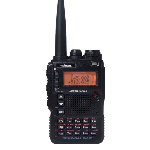 MML Tri-Band UV-8DR Two Way Ham Radio Portable Long Range 128CH FM Walkie Talkie