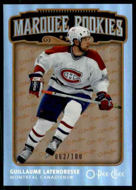 2006-07 O-Pee-Chee Rainbow Marquee Rookies Guillaume Latendresse RC . #544