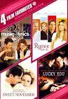 4 Film Favorites Romance Collection 2pc DVD Region 1 883929108800