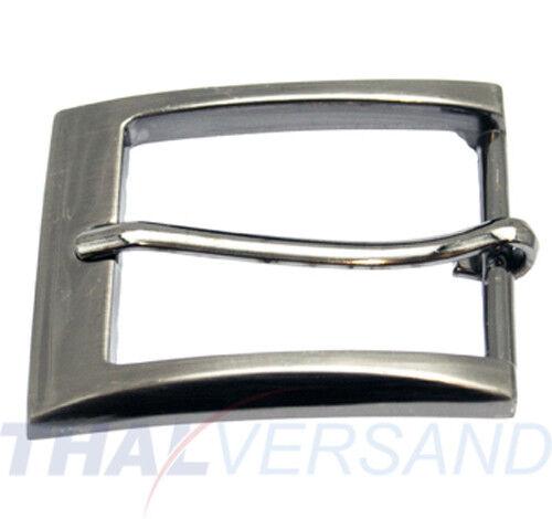 Gürtelschnalle 35mm Zinkdruckguss Silber Antik Gürtelschnallen Gürtel Schnalle