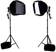 "Photo / Video 24"" Speedlite Flash Softbox grids L-Bracket Shoe Mount stand kit"